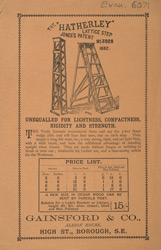 Advert for the Hatherly Lattice Step Ladder 6071